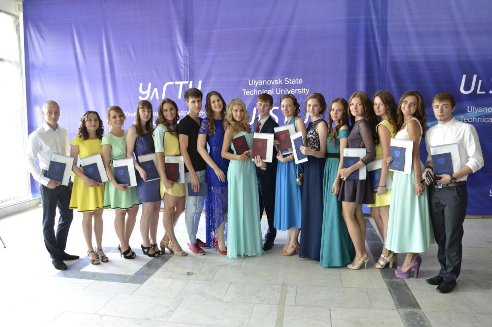 В УлГТУ состоялось вручение дипломов выпускникам года